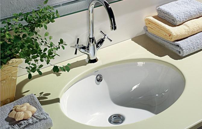Countertop basin vouga-21