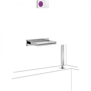 Electronic Tapware for bath-735