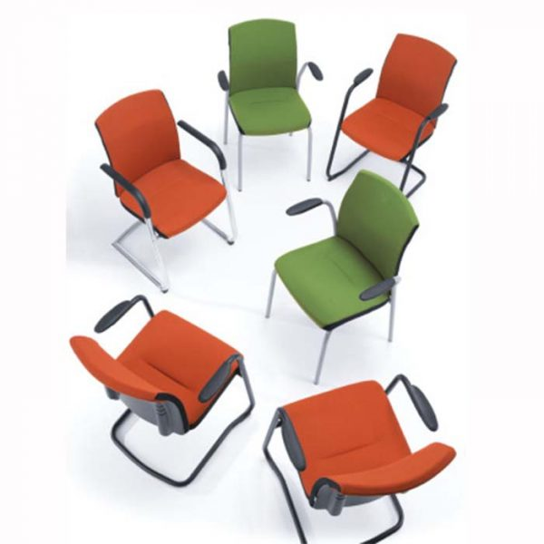 One 21H Metallic Conference chair-1066
