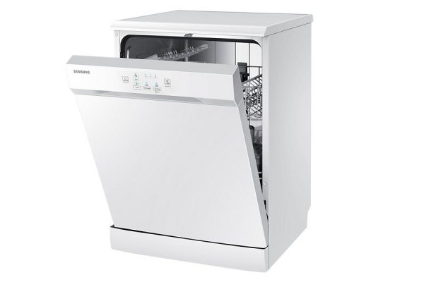 "24"" Samsung, Free Standing Dish Washer, White colour DW60H3010FW -0"