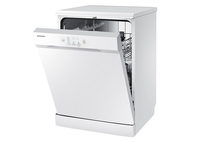 """24"""" Samsung, Free Standing Dish Washer, White colour DW60H3010FW -0"""