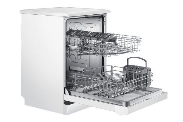 "24"" Samsung, Free Standing Dish Washer, White colour DW60H3010FW -1571"