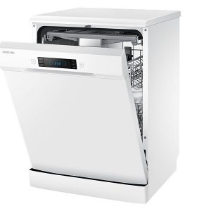 "24"" Free Standing Dish Washer, DW60H6050FW, 14 sets, White colour-0"