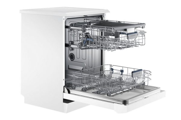 """24"""" Free Standing Dish Washer, DW60H6050FW, 14 sets, White colour-1566"""