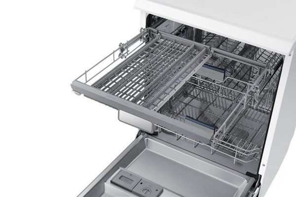 """24"""" Free Standing Dish Washer, DW60H6050FW, 14 sets, White colour-1568"""