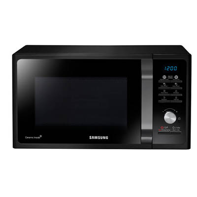 23L Samsung Microwave, MWF300G Solo MWO with Healthy Cooking-0